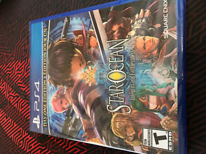 Star Ocean Integrity and Faithlessness PS4 *New Sealed*