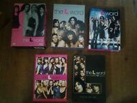 The L Word season collections 1-5. 100 OBO