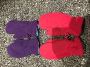 Hat & Mitts - $1 each