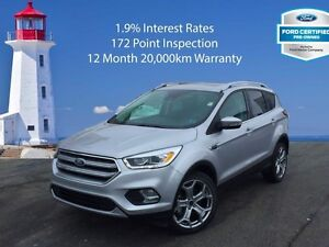 2017 Ford Escape Titanium   Extra 12 Month 20,000km Warranty
