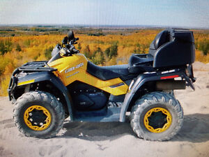 Can Am Outlander 650 XTP Max