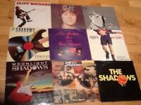 The Shadows and Cliff Richard LP's