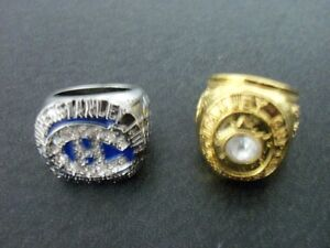 STANLEY CUP RINGS---TORONTO -PITTSBURGH--CHICAGO-LA
