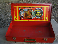 """LITTLE RED-""""BIG BOY"""" METAL TOOL CHEST"""