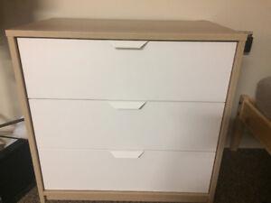 IKEA 3 drawer chest, dresser