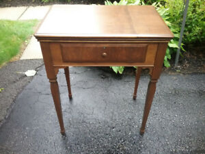 Solid Wood Antique Sewing Machine Table