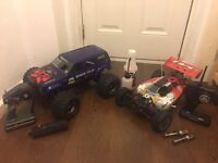 Rc cars swap for petrol