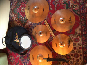 2 complete drum sets for sale