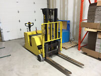 Hyster W40XTC Battery Powered Forklift - only 375 hours