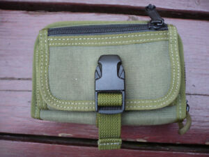 Maxpedition RAT Wallet / EDC Pouch, OD Green - Spotless, As New!