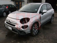 2015 Fiat 500X 1.4 MultiAir II Cross Plus DAMAGED REPAIRABLE SALVAGE