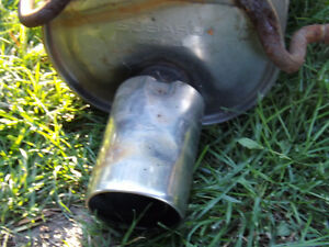 Subaru Muffler Exhaust and Center pipe