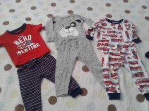 Bradley worn baby clothes 12 months