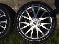 Renault Clio wheels and tyres