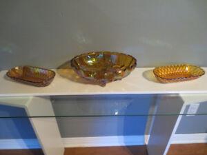 Vaisselle Carnaval couleur Marigold à partir de 15$.