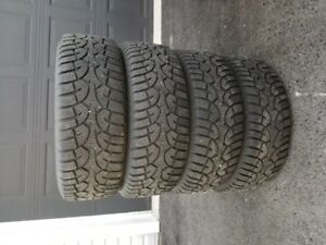 Winter Tires - 205 55R 16 on steel rims ( 5 bolt pattern)