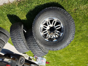 New tires with used rims