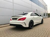 2014 14 Mercedes-Benz CLA45 2.0 AMG Cla 45 + WHITE + LOW MILES