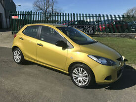 08 MAZDA 2 1.3 TS 5 DOOR 51000 MILES FULL MOT & FRESH SERVICE VERY CLEAN CAR