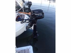 Tohatsu Sailpro 6HP Outboard Motor