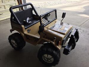 Mongoose bicycle Raider Jeep  - power wheels