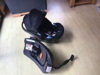 Cybex Aton4 Car Seat and Isofix Base