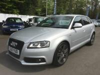 2010 Audi A3 2.0 TDI Black Edition 5dr [Start Stop] 5 door Hatchback