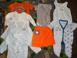Lot of 8 items - Baby BOY clothes - 9 months old