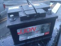 BRAND NEW HEAVY DUTY CAR/VAN BATTERY FULLY CHARGED & READY TO GO £25