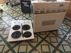 Kenmore Cooktop and wall oven