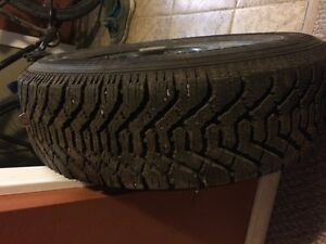 4 winter tires for sale on rims
