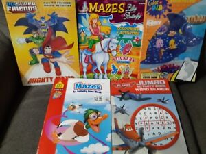 Books - Puzzles and Activities - Level 1 (5)