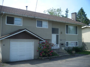 North Delta 3 bedroom 2 Bath upper in House w laundry + parking
