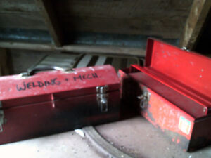 2 Steel Tool Boxes