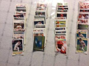 Cartes autocollantes  baseball 1990