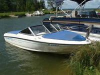 2006 Bayliner 175 with trailer and fish finder.