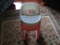 Chaise haute little tikes
