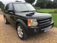2008 08 LAND ROVER DISCOVERY 3 2.7 AUTO 188 BHP DIESEL