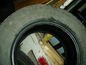 4 used Goodyear Fortara tires M/s 255/65/16 still hold air H rat Regina Regina Area image 2