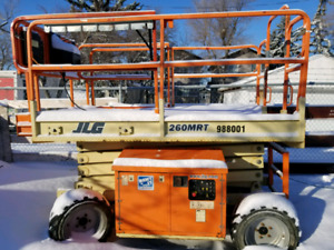 JLG 260MRT 4x4 R/T Scissor Lift for sale