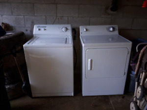 Washer and dryer works great
