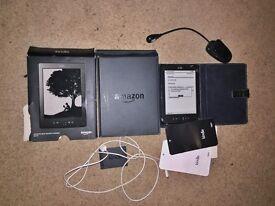 Amazon Kindle 5th gen plus extras