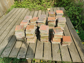 Vintage reclaimed quarry tiles