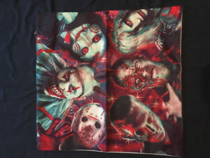 Horror pillow cases 18x18