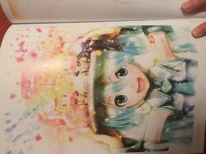 Vocaloid Art Book Kingston Kingston Area image 4