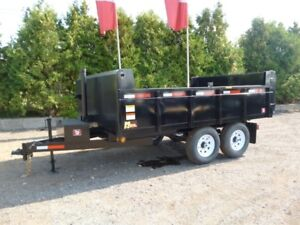 Canadian Made - Miska 6 Ton Deckover Dump Trailer