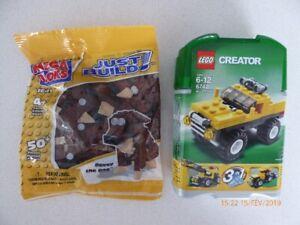 Lego creator et Mega bloks (neuf)