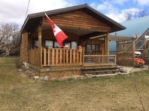 Cabin at lac Peltier for sale