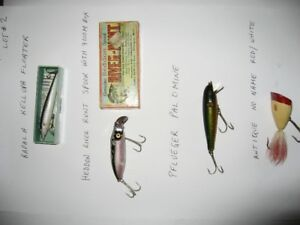 20. Fishing - Antique Fishing Lures for sale Lot 2