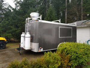Mobile Concession Food Trailer - Fully Certified BC Trailer